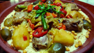 Couscous Royale with lamb